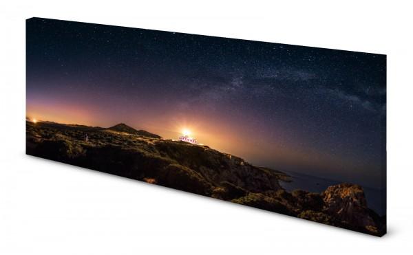Magnettafel Pinnwand Bild Sternenhimmel Nachthimmel Sternenwarte gekantet