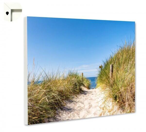 Magnettafel Pinnwand Natur Sylt Düne Strand Weg