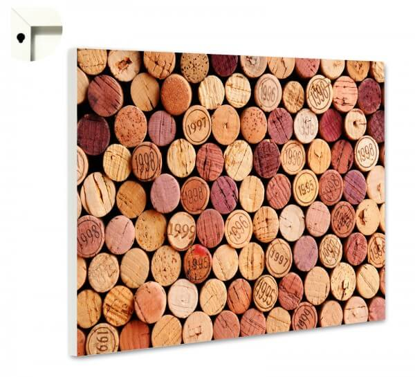 Magnettafel Pinnwand Küche Rotwein Korken 4