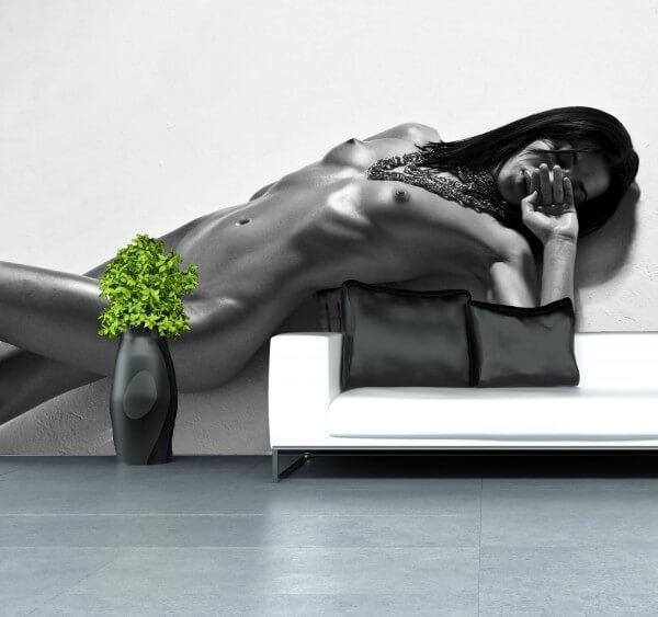 Vlies Tapete XXL Poster Fototapete Erotik sexy Lady nackt