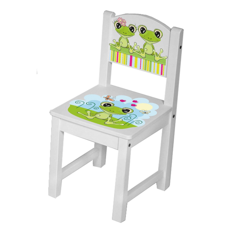 kinder st hle tisch kindersitzgruppe kinderst hle massiv holz frosch freunde gr ebay. Black Bedroom Furniture Sets. Home Design Ideas
