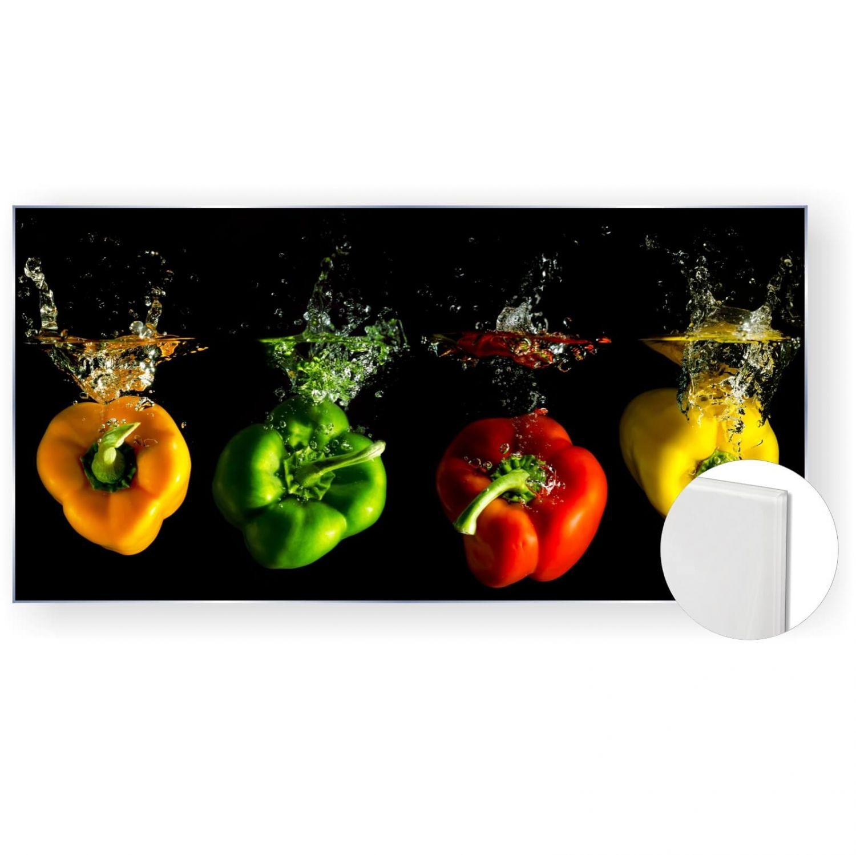 Acrylglasbild Glasbild Bild 120x60 cm 5mm Panorama Paprika Küche | eBay