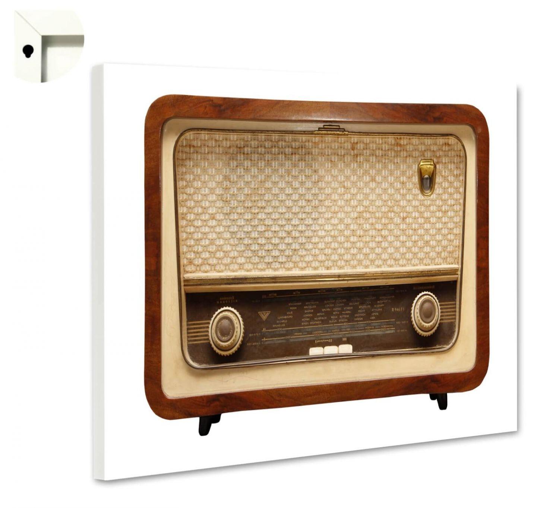 magnettafel pinnwand mit motiv retro antik radio alt 2 ebay. Black Bedroom Furniture Sets. Home Design Ideas