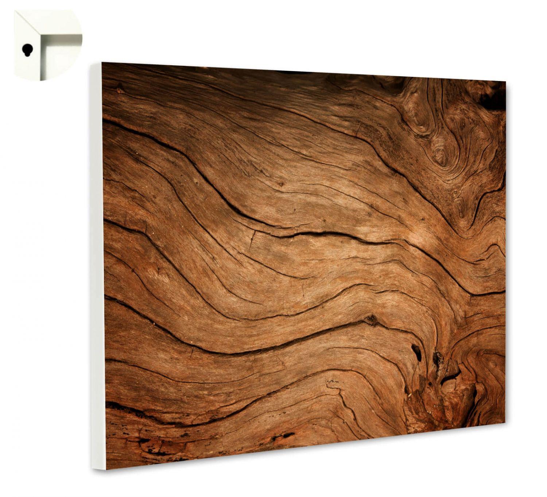 magnettafel pinnwand mit motiv muster holz hell ebay. Black Bedroom Furniture Sets. Home Design Ideas