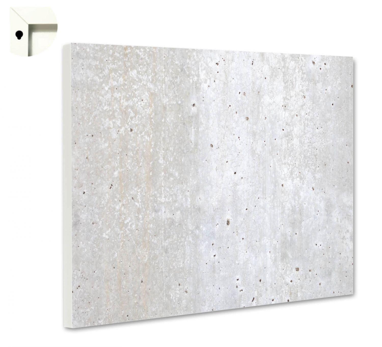 Homcom Whiteboard Magnettafel Wandtafel Wei/ßwandtafel magnetisch mit Alurahmen inkl Boardmarker Boardl/öscher und Haftmagneten 60x45 cm